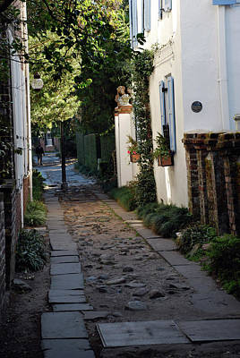 As Art Photograph - Charleston Alley 1 by Skip Willits