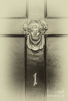 Photograph - Charleston Alley Door Knocker by Dale Powell