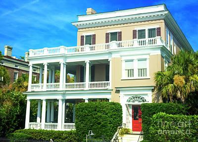 Photograph - Charleston Antebellum Style by John Rizzuto
