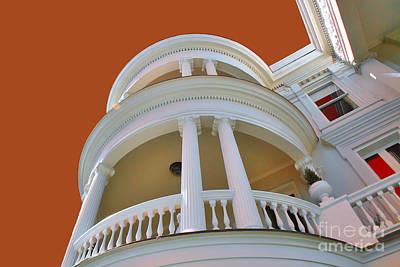 Charleston Architecture Art Print by Wendy Mogul