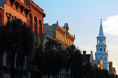 Photograph - Charleston, At Last Light by James Kirkikis