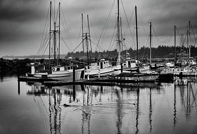Photograph - Charleston Bay, Oregon by Steven Clark
