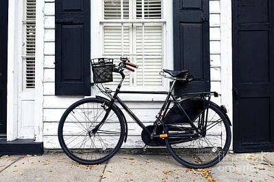 Photograph - Charleston Bicycle On Meeting Street by Catherine Sherman
