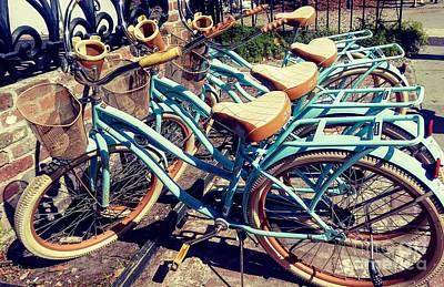 Photograph - Charleston Bikes by Patricia L Davidson