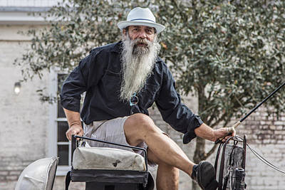 Photograph - Charleston Carriage Driver by John McGraw