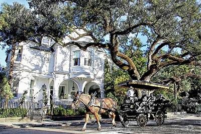 Photograph - Charleston Carriage Ride by Alice Gipson