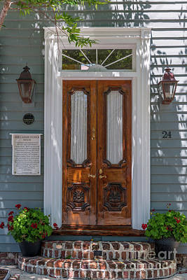 Photograph - Charleston Casimir Patrick House Entrance by Dale Powell