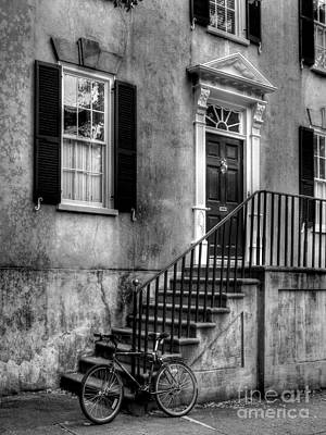 Photograph - Charleston Charm Bw by Mel Steinhauer