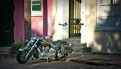 Photograph - Back Street Charleston Chopper by Phil Mancuso