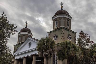 Photograph - Charleston Church 2 Domes by John McGraw