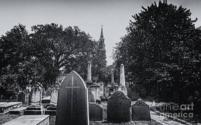 Photograph - Charleston Churches And Cemeteries by Dale Powell