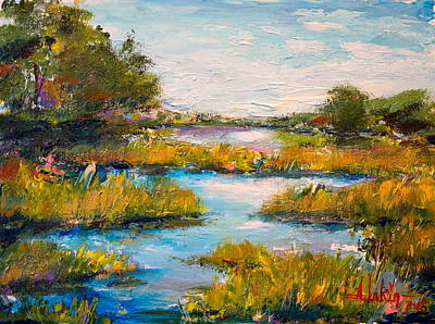 Painting - Charleston City Limits by Alan Lakin