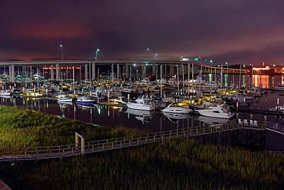 Photograph - Charleston City Marina by Dan Myers