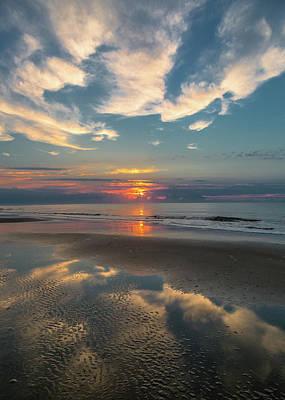 Photograph - Charleston Coast Sunrise by Donnie Whitaker