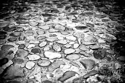 Photograph - Charleston Cobblestone by John Rizzuto