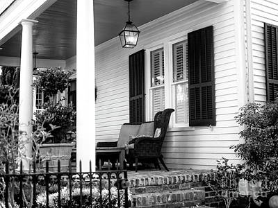 Photograph - Charleston Comfort by John Rizzuto