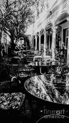 Photograph - Charleston Courtyard Cafe by Patricia L Davidson