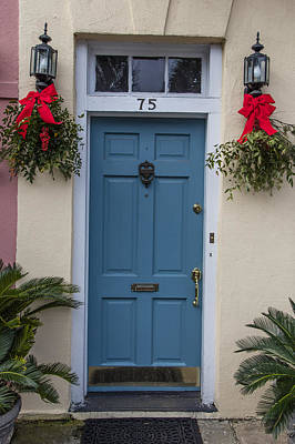 Photograph - Charleston Door 75 by John McGraw