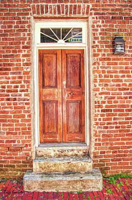 Digital Art - Charleston Doors 1 by Trey Foerster