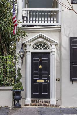 Photograph - Charleston Doorway 2 by John McGraw