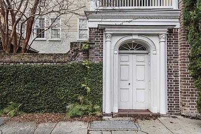 Photograph - Charleston Doorway 32 by John McGraw