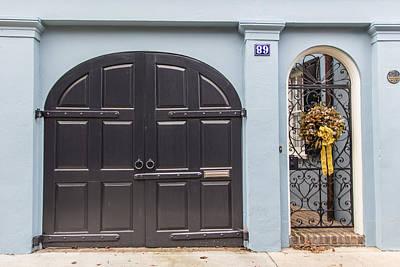 Photograph - Charleston Double Door by John McGraw