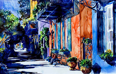 Painting - Charleston Dreaming by Trish McKinney