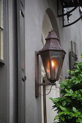 Charleston Photograph - Charleston Gas Light by J Darrell Hutto