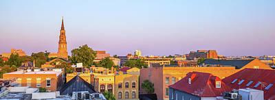 Charleston Glows Art Print
