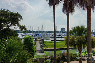 Photograph - Charleston Harbor by Jennifer White