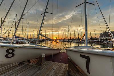 Photograph - Charleston Harbor Marina by Donnie Whitaker