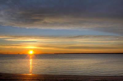 Charleston Harbor Sunrise Original