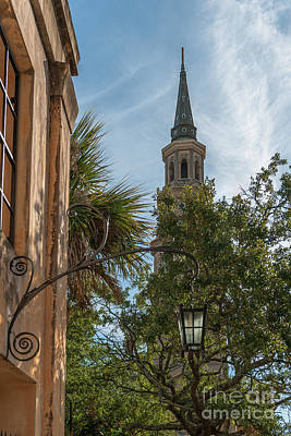 Photograph - Charleston Iron Scroll  by Dale Powell