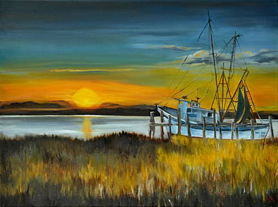 Painting - Charleston Low Country by Lindsay Frost