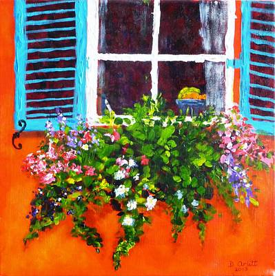 Painting - Charleston Morning by Diane Arlitt