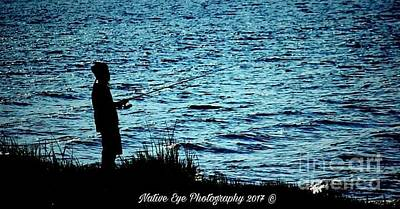 Wall Art - Photograph - Charleston Morning Fishing by Lisa Marie Towne