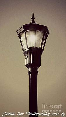 Wall Art - Photograph - Charleston Morning Streetlight by Lisa Marie Towne