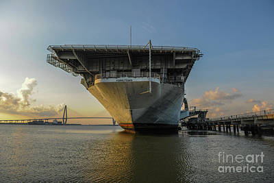 Photograph - Charleston Naval Pride by Dale Powell