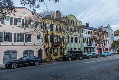 Photograph - Charleston Rainbow Row by John McGraw