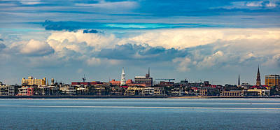 Photograph - Charleston Sc Cityscape by Donnie Whitaker
