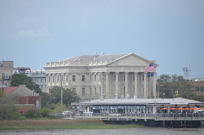 Photograph - Charleston, Sc Custom House by Gordon Mooneyhan