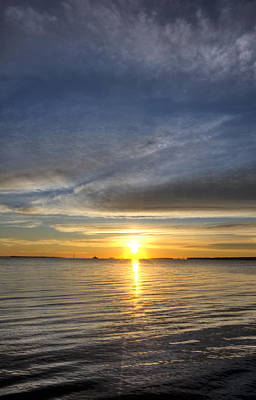 Battery Photograph - Charleston Sc Sunrise by Dustin K Ryan