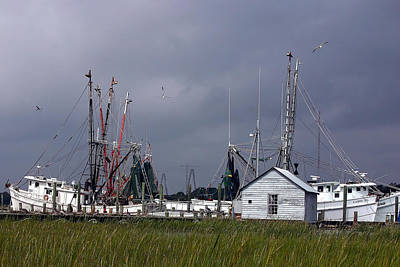 Photograph - Charleston Shrimp Boat by Ken Barrett