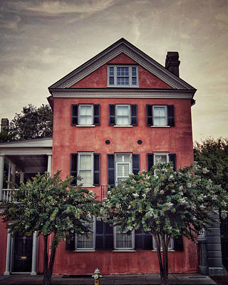 Photograph - Charleston Single House 1 by E Karl Braun