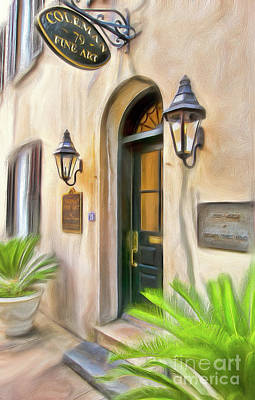Painting - Charleston South Carolina Fine Art For Sale Ap by Dan Carmichael