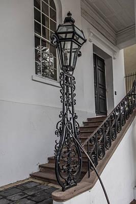 Photograph - Charleston Stairwell  by John McGraw