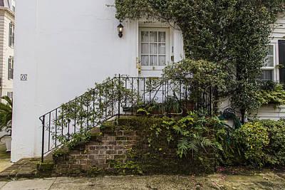 Photograph - Charleston Stoop  by John McGraw
