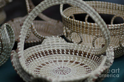 Photograph - Charleston Sweetgrass Baskets by Dale Powell