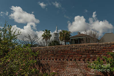 Photograph - Charleston Walled Garden by Dale Powell