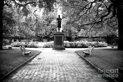 Photograph - Charleston Washington Square by John Rizzuto